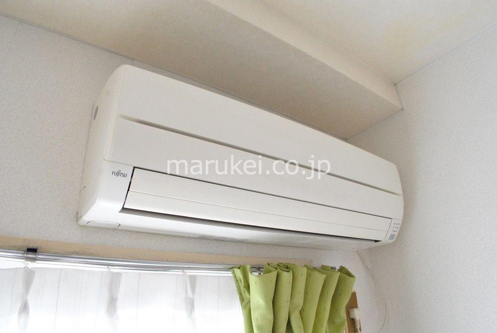 エアコン付きです。故障した際には修理対応します。