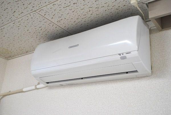 設備でエアコンがついております。