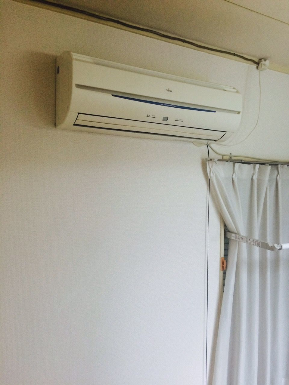 エアコンも付いています。