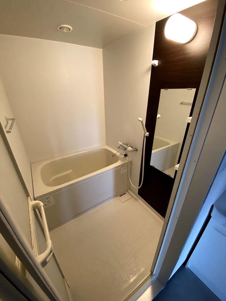 浴室ユニットは前回交換済み