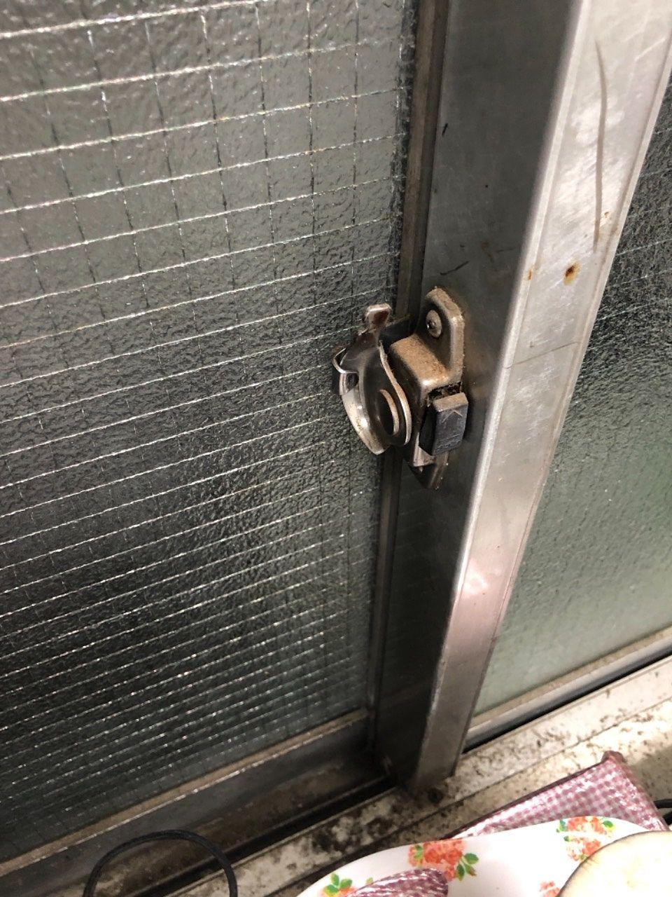 【大家さんDIY】越谷市のマンションのサッシのクレセント錠の交換