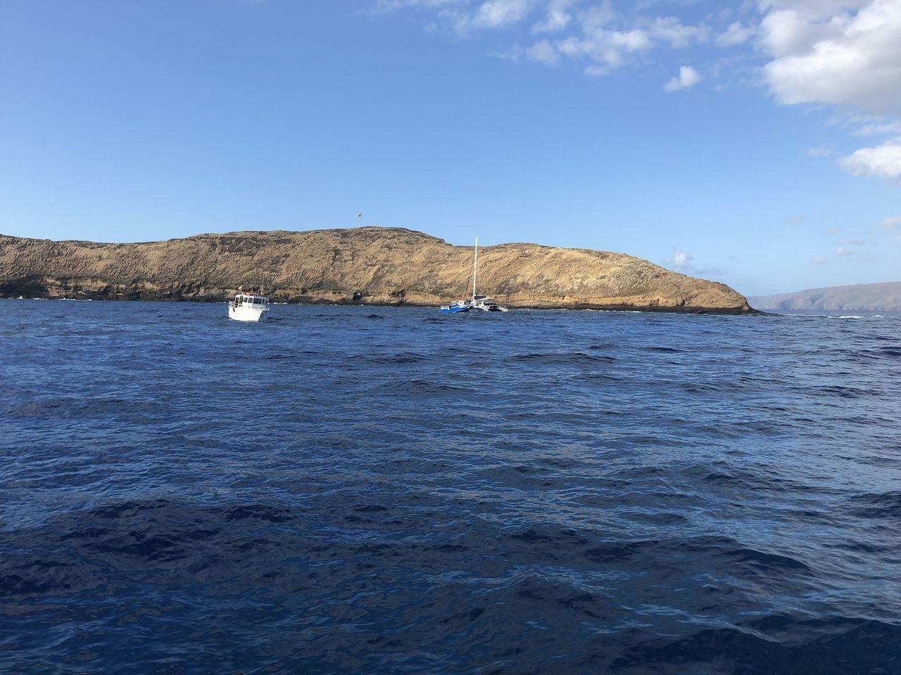 モロキニ島周辺でのダイビング