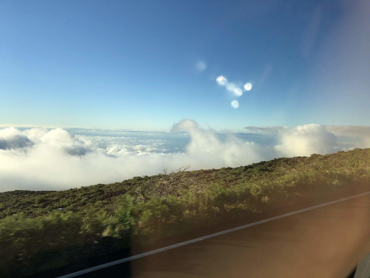 雲海が見えてきました。