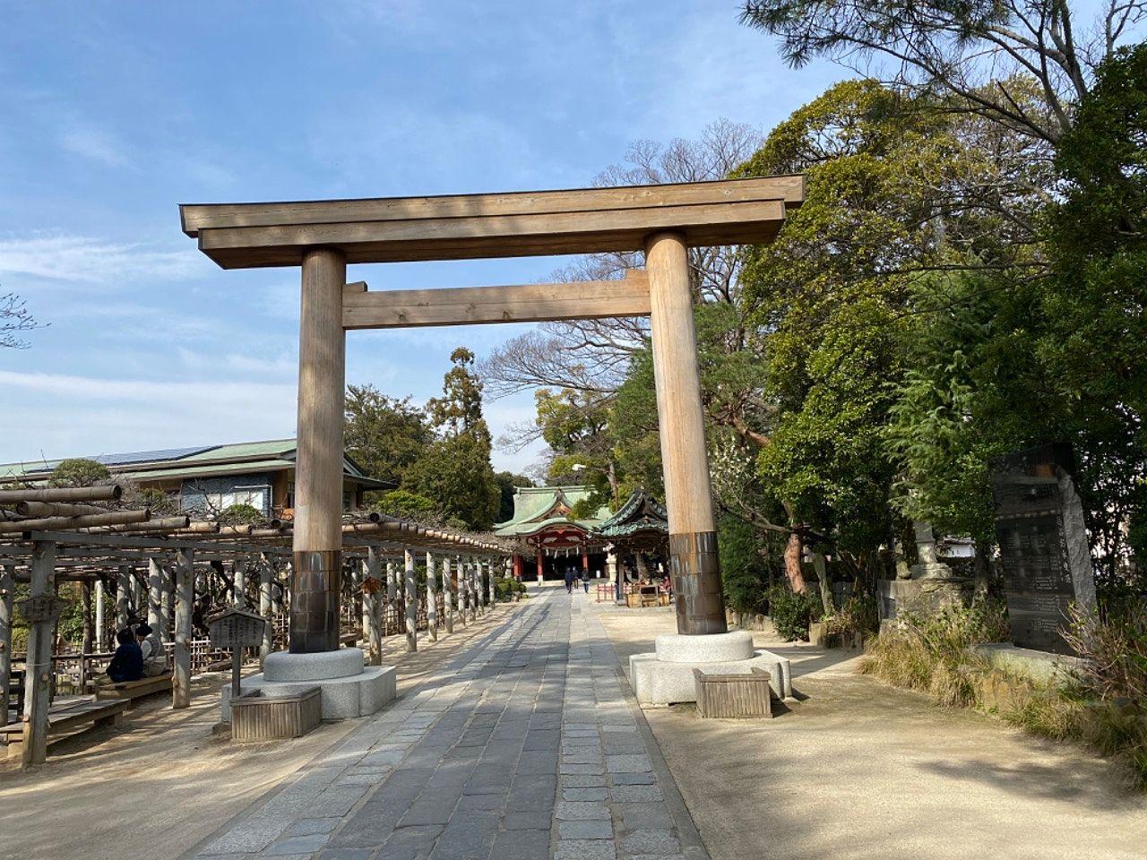 越谷の久伊豆神社にお詣りに行って来ました。